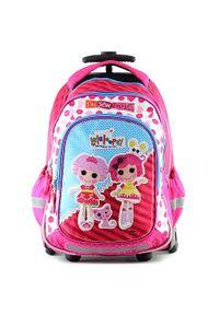 Różowy plecak Lalaloopsy z aplikacjami