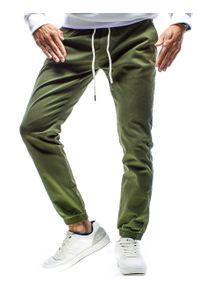 Brązowe spodnie Recea