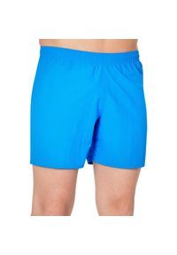 NABAIJI - Szorty Pływackie 100 Basic Męskie. Kolor: niebieski. Materiał: materiał, poliamid