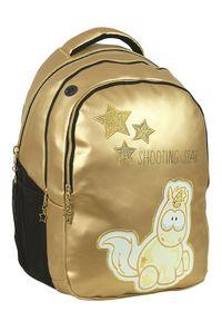 Złoty plecak Back Me Up retro