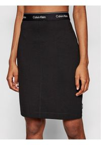 Czarna spódnica mini Calvin Klein
