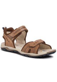 Brązowe sandały Lasocki Young klasyczne, na lato