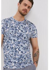 medicine - Medicine - T-shirt Summer Vibes. Kolor: biały. Materiał: bawełna, dzianina, włókno