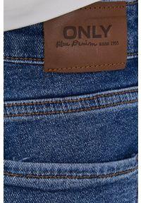 only - Only - Jeansy Emily. Kolor: niebieski