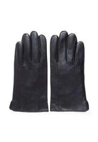 Czarne rękawiczki Wittchen klasyczne, na lato