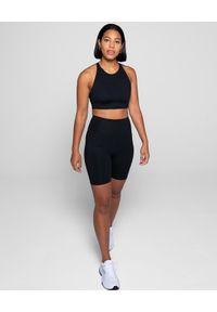 GIRLFRIEND COLLECTIVE - Czarny top Topanga. Kolor: czarny. Materiał: tkanina. Długość rękawa: na ramiączkach. Styl: sportowy