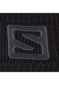 Czarna czapka salomon #3