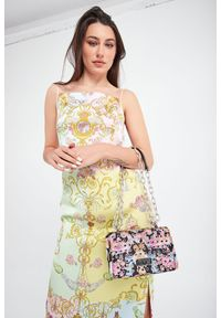 Versace Jeans Couture - TOREBKA VERSACE JEANS COUTURE. Wzór: kolorowy, nadruk #3