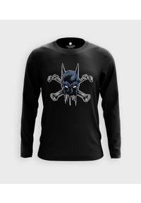 MegaKoszulki - Koszulka męska z dł. rękawem Batbones. Materiał: bawełna