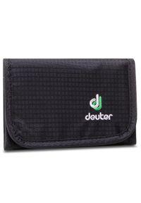 Czarny portfel Deuter