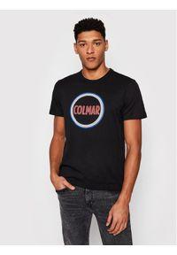 Colmar T-Shirt Frida 7590 6SH Czarny Regular Fit. Kolor: czarny