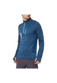 Pro Touch - Bluza męska do biegania PRO TOUCH William 294782. Typ kołnierza: kołnierzyk stójkowy. Materiał: materiał, elastan, tkanina, syntetyk, poliester. Długość rękawa: długi rękaw. Długość: długie. Sport: fitness, bieganie