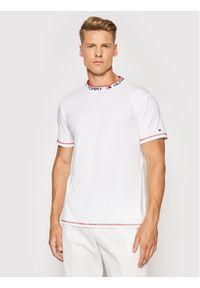TOMMY HILFIGER - Tommy Hilfiger T-Shirt Cn Ss UM0UM02127 Biały Regular Fit. Kolor: biały