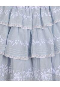 LOVE SHACK FANCY KIDS - Sukienka Callie 3-12 lat. Kolor: biały. Materiał: materiał, koronka. Wzór: haft, aplikacja. Sezon: lato