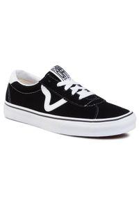 Czarne buty skate Vans