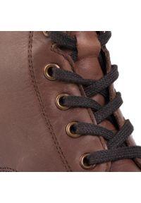 Lasocki - Botki LASOCKI - WI16-ALA-01 Brown. Kolor: brązowy. Materiał: skóra, zamsz. Szerokość cholewki: normalna. Sezon: zima, jesień. Obcas: na obcasie. Wysokość obcasa: średni