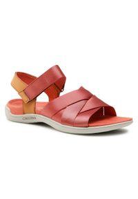 Czerwone sandały Merrell