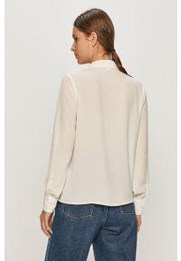Biała koszula Jacqueline de Yong z długim rękawem, długa