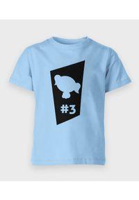 MegaKoszulki - Koszulka dziecięca Atom Blue one. Materiał: bawełna