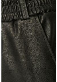 Czarne spodnie materiałowe Haily's na co dzień, casualowe