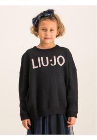Liu Jo Kids Sweter Maglia Chiusa G69215 MA09E Czarny Regular Fit. Kolor: czarny