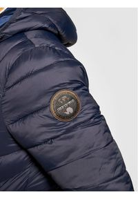 Niebieska kurtka puchowa Napapijri #7