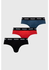 Hugo - Slipy (3-pack). Kolor: niebieski
