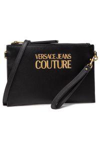 Versace Jeans Couture - Torebka VERSACE JEANS COUTURE - E1VWABLX 71879 899. Kolor: czarny. Materiał: skórzane. Styl: klasyczny