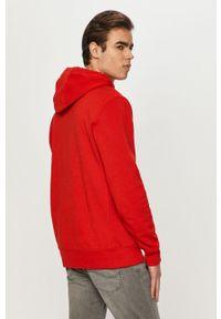 Czerwona bluza nierozpinana Tommy Jeans na co dzień, casualowa, gładkie