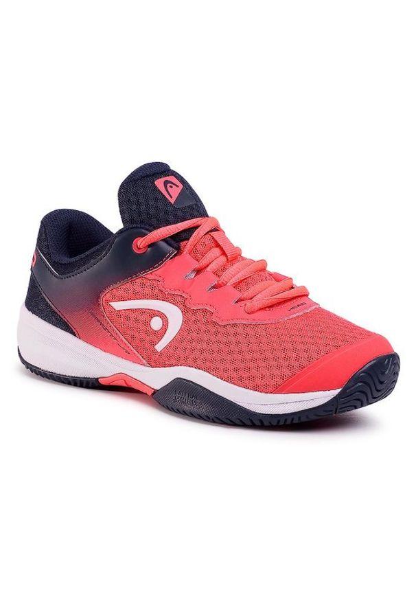 Czerwone buty sportowe Head do biegania