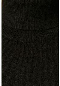 Czarna sukienka Vila na co dzień, z golfem, casualowa, prosta #5