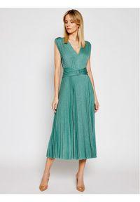 Zielona sukienka koktajlowa Marella wizytowa