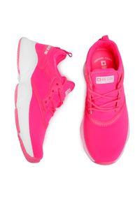 Big-Star - Sneakersy BIG STAR - FF274931 Pink. Okazja: na co dzień. Kolor: różowy. Materiał: skóra ekologiczna, materiał. Szerokość cholewki: normalna. Styl: casual