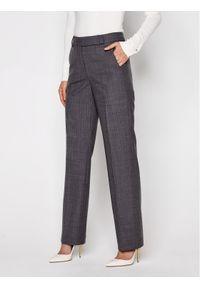 MICHAEL Michael Kors Spodnie materiałowe Derby MF03HBSESJ Szary Regular Fit. Kolor: szary. Materiał: materiał
