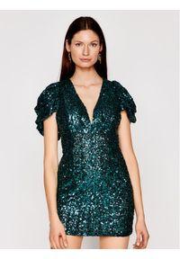 Zielona sukienka koktajlowa Babylon
