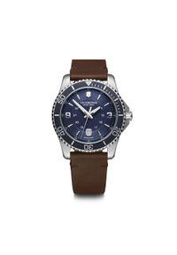 Niebieski zegarek VICTORINOX militarny