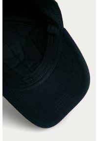Niebieska czapka z daszkiem GANT