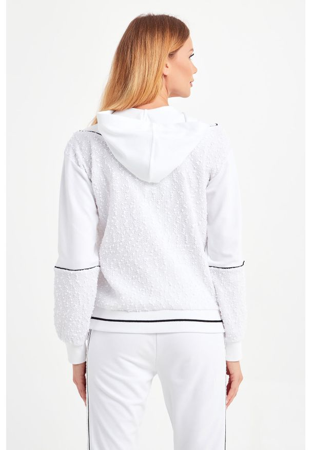Bluza Liu Jo Sport z kapturem, sportowa, z aplikacjami