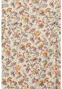 Pepe Jeans - Sukienka Miranda. Materiał: tkanina. Długość rękawa: długi rękaw. Typ sukienki: rozkloszowane