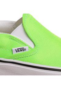 Zielone buty sportowe Vans Vans Classic