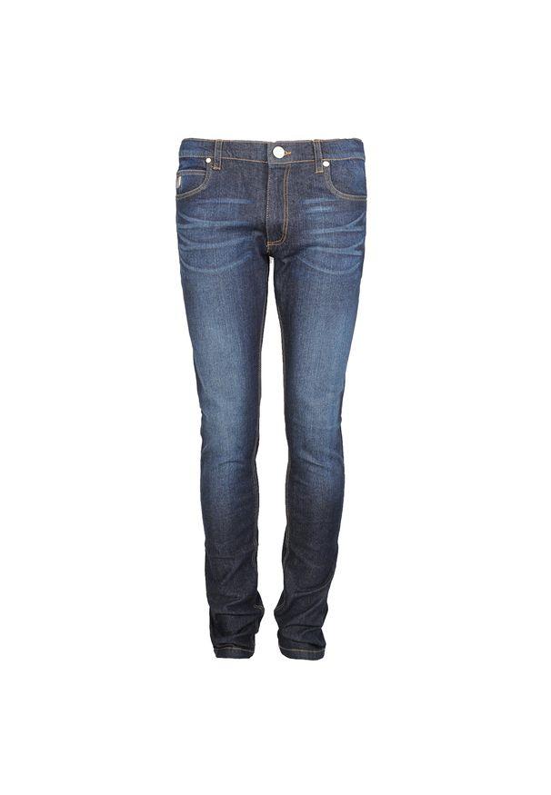 Brązowe jeansy Versace Jeans