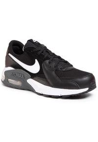Czarne półbuty Nike na co dzień, z cholewką, eleganckie