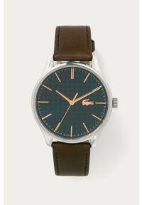 Brązowy zegarek Lacoste