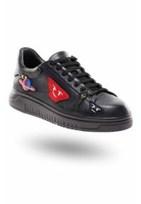Czarne sneakersy Emporio Armani