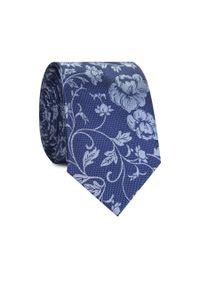 Krawat Giacomo Conti w kwiaty