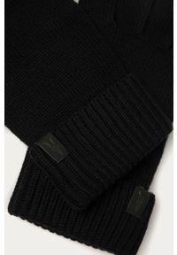 Niebieskie rękawiczki AllSaints