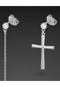 SIN BY MANNEI - Srebrne Kolczyki Saint. Materiał: srebrne. Kolor: srebrny