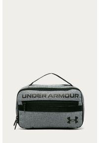 Szara kosmetyczka Under Armour z nadrukiem