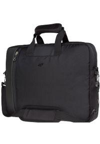 Czarna torba na laptopa 4f