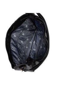 Czarna torebka klasyczna U.S. Polo Assn skórzana, klasyczna